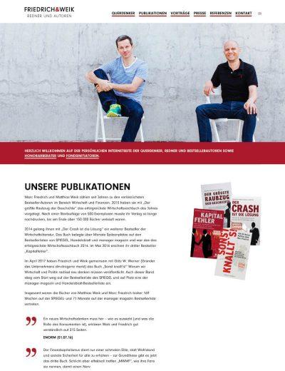 Friedrich & Weik BestsellerautorenGehe zu