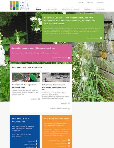 Netzwerk GärtenGehe zu