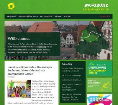 Grüne BacknangGehe zu