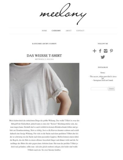 Meelony FashionblogGehe zu