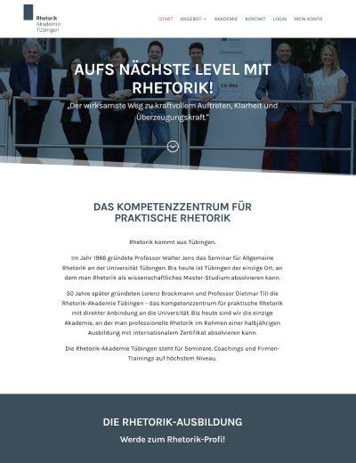 Besuche Rhetorik Akademie Tübingen